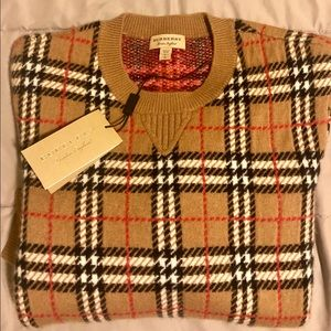 Burberry 100% cashmere sweater